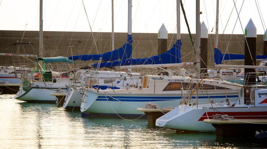 Okinawa which includes a marina