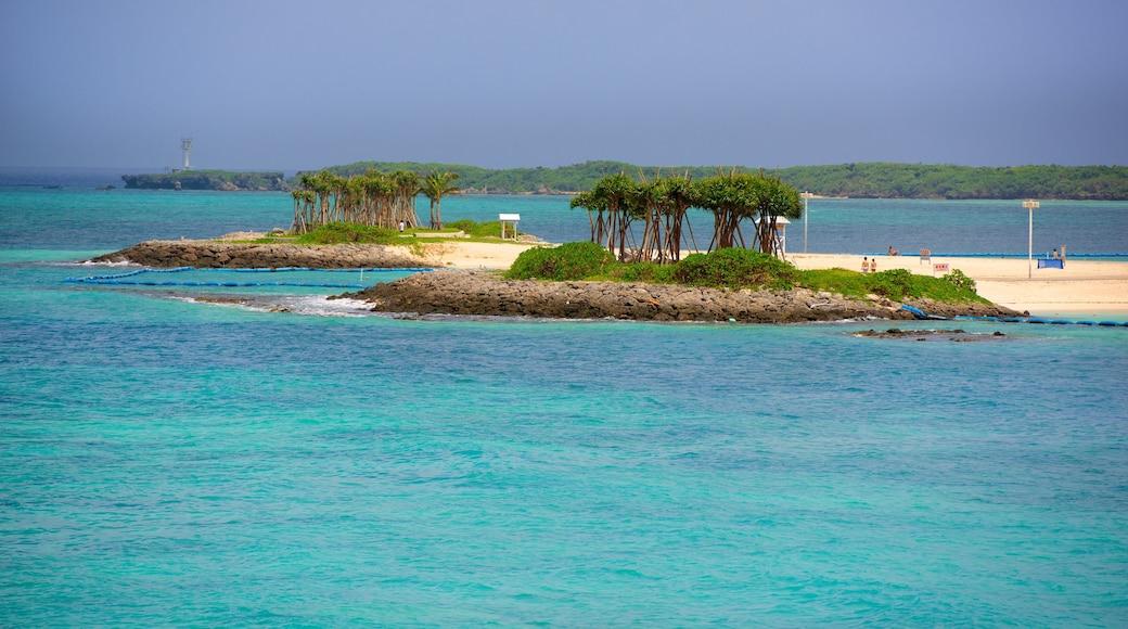 Okinawa mit einem allgemeine Küstenansicht