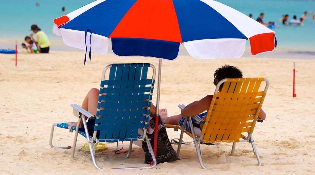 Okinawa das einen Strand