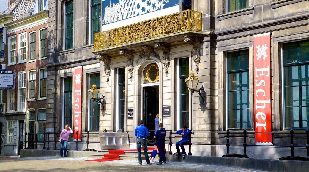 Museu Escher que inclui cenas de rua