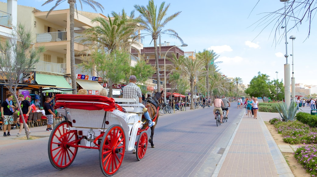 El Arenal featuring street scenes