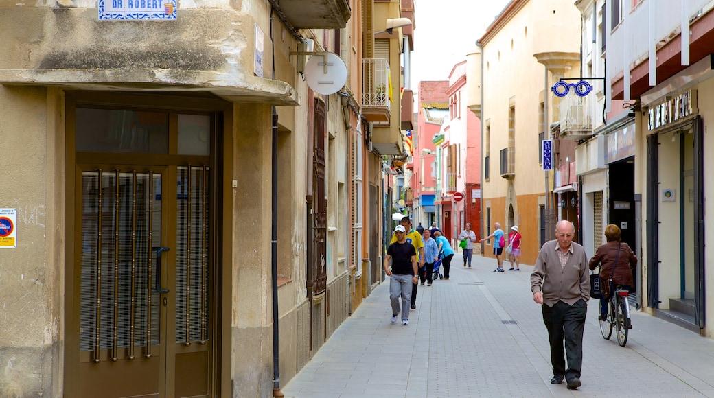 Malgrat de Mar inclusief historische architectuur, een huis en straten