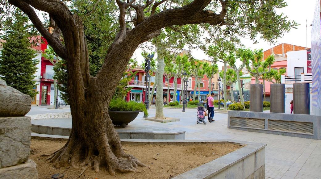 Malgrat de Mar bevat een plein