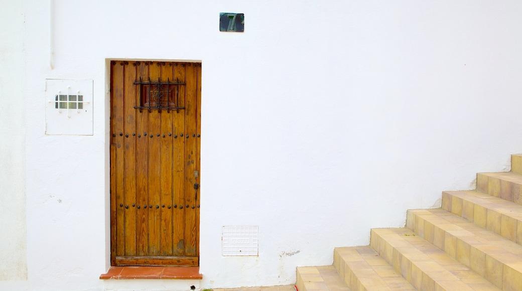 Llafranc som visar ett hus