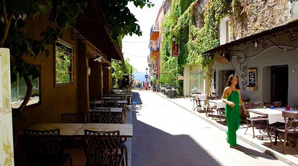 Porto Vecchio che include strade cosi come ragazza