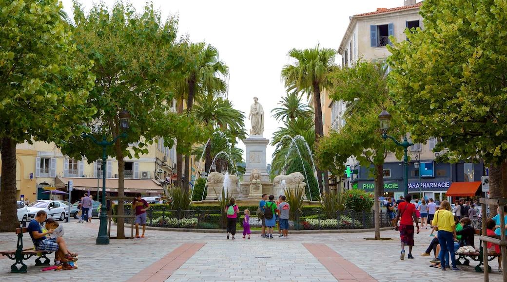 Place Foch montrant statue ou sculpture, square ou place et parc