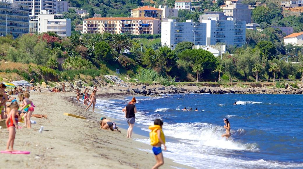 L\'Arinella Beach which includes a sandy beach