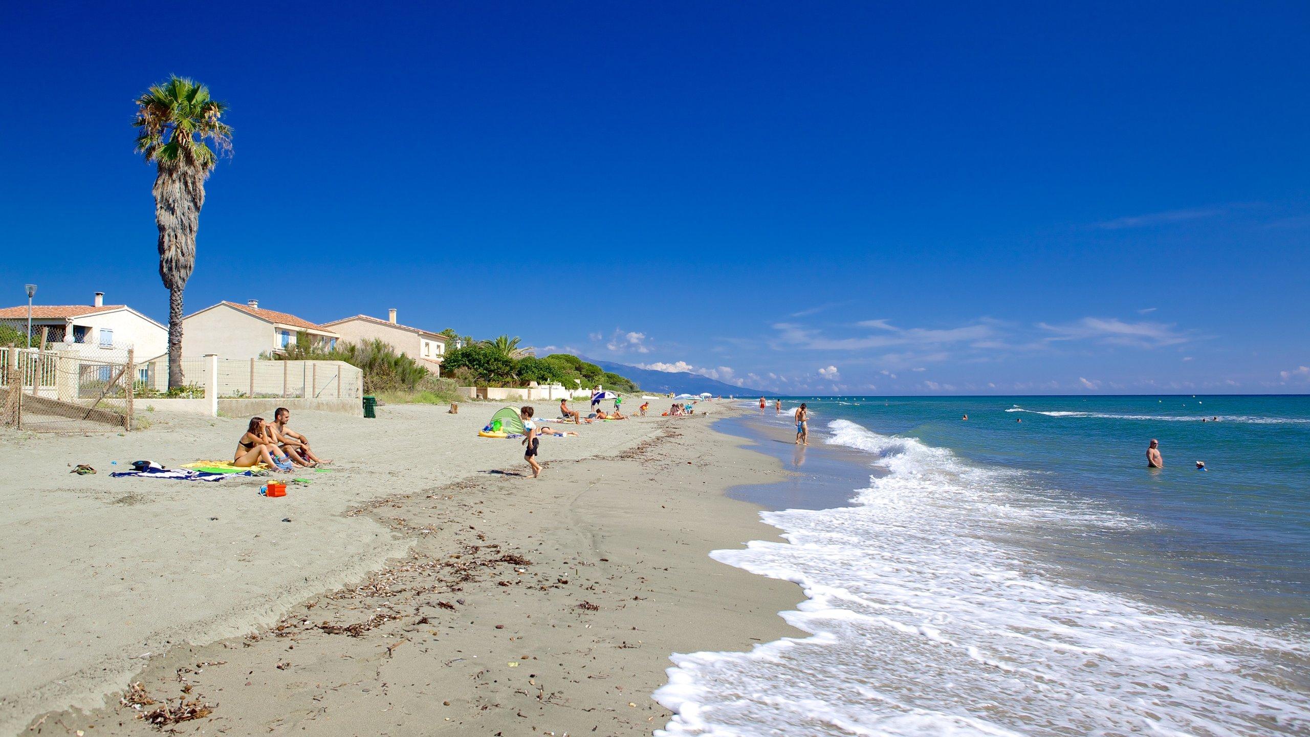 La Marana Beach, Haute-Corse, France