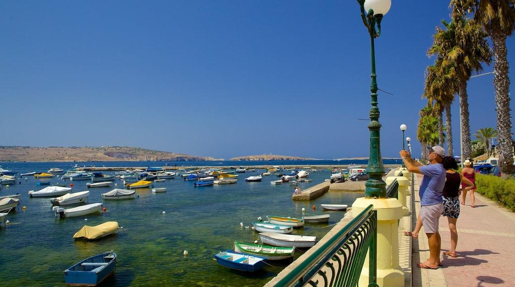 San Pawl il-Baħar qui includes baie ou port