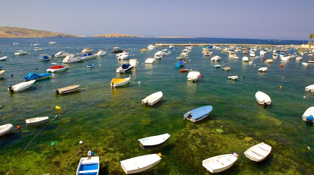 San Pawl il-Baħar mettant en vedette baie ou port
