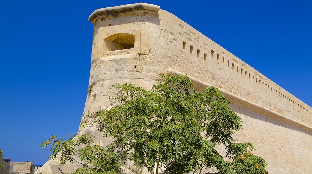 Fort St. Elmo das einen historische Architektur