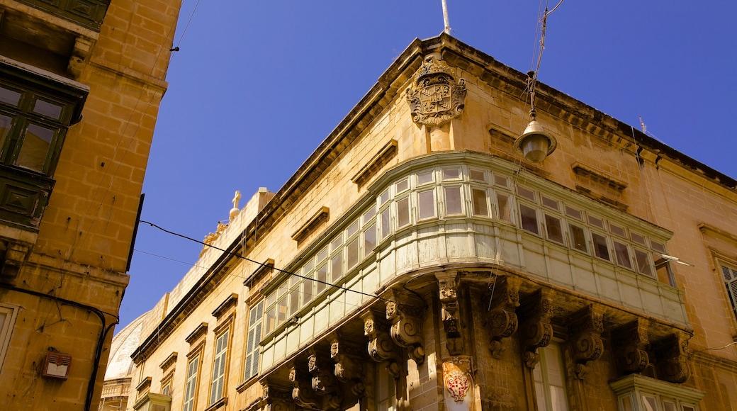 Teatru Manoel welches beinhaltet historische Architektur