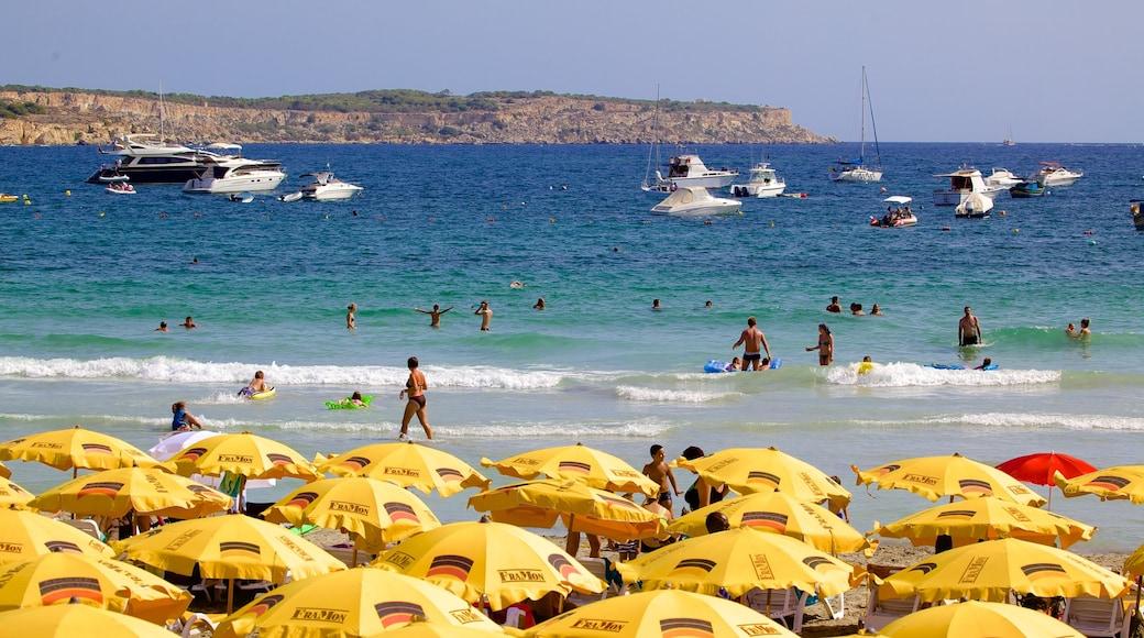 Mellieha Bay mostrando spiaggia