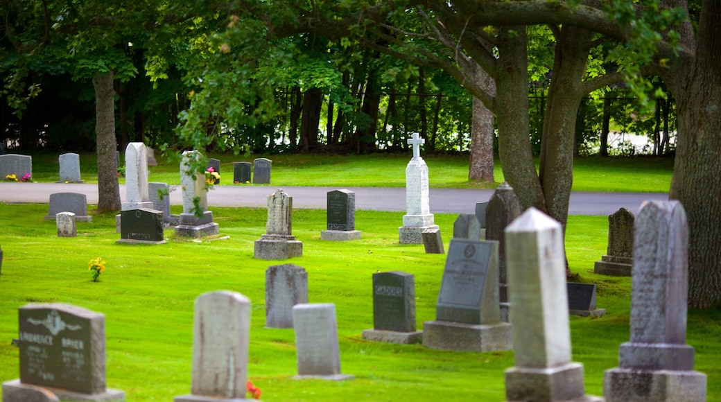 Fairview Cemetery featuring a cemetery and a memorial