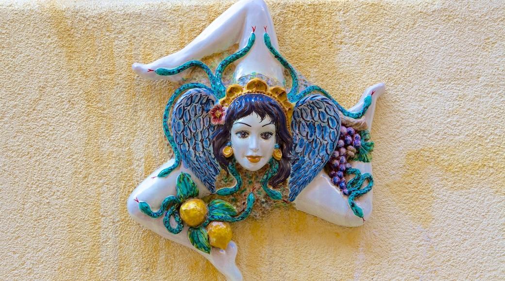 Messina che include arte urbana e arte