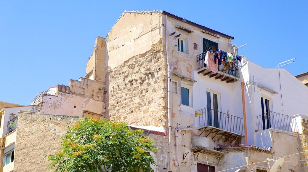 Palermo johon kuuluu talo ja vanha arkkitehtuuri