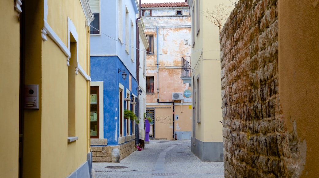 Olbia mit einem Straßenszenen