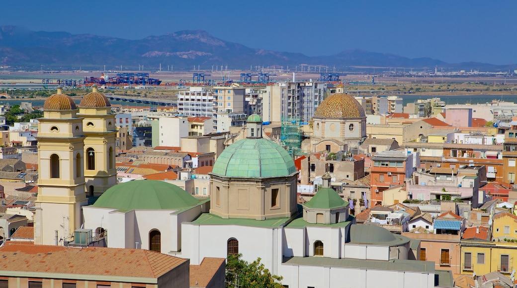 Cagliari montrant ville