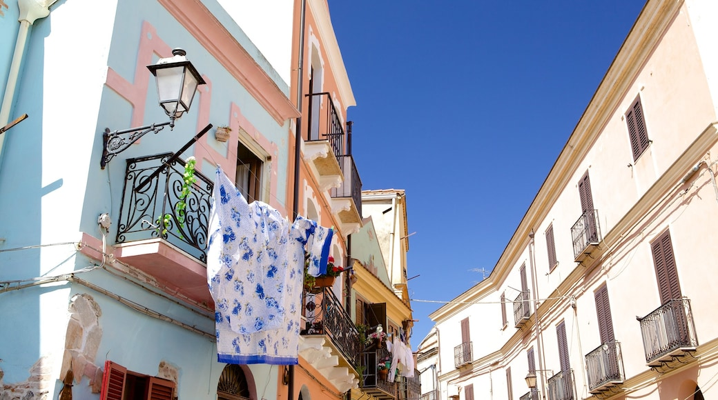 Iglesias which includes a house, a small town or village and street scenes