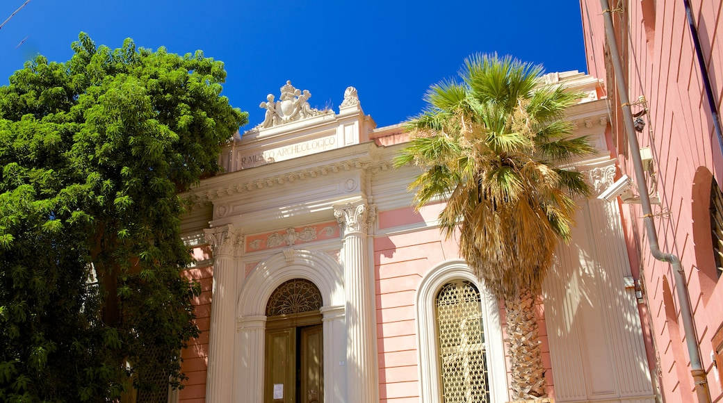 National Archaeological Museum featuring heritage architecture