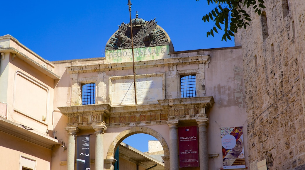 National Archaeological Museum showing heritage architecture