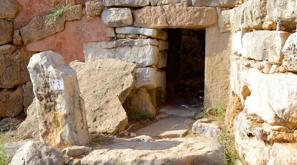 Nuraghe di Palmavera แสดง มรดกทางสถาปัตยกรรม