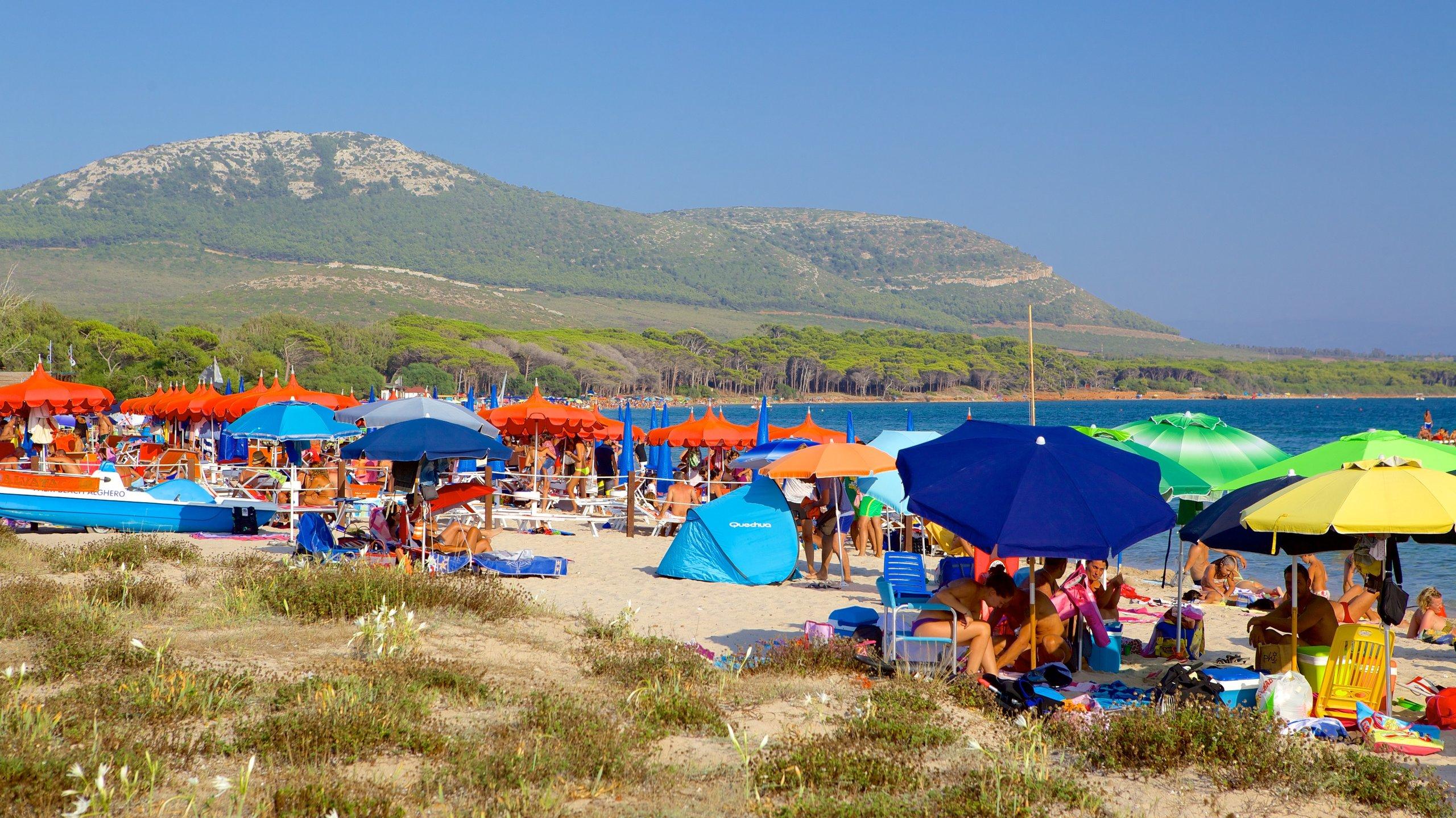 Spiaggia di Mugoni, Alghero, Sardegna, Italia