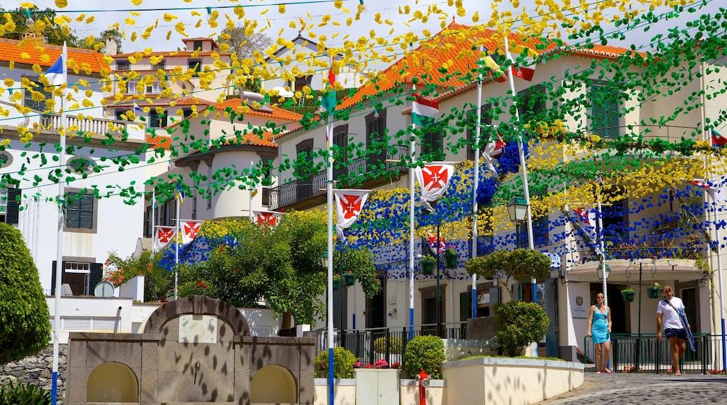 Ponta do Sol bevat bloemen en straten