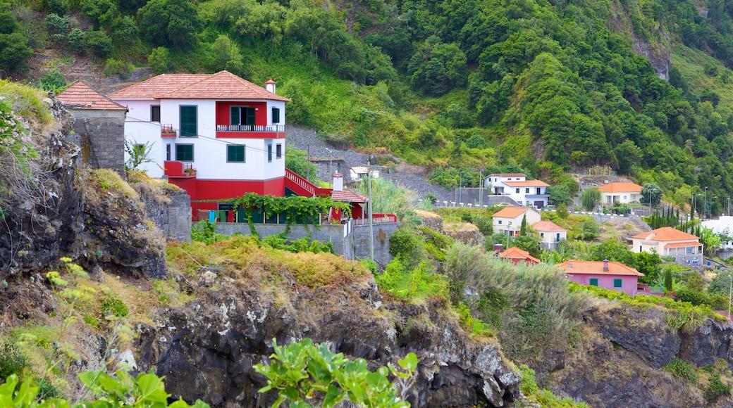 Madeira bevat een huis en een klein stadje of dorpje