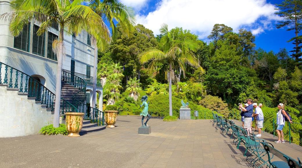 Tuinen Monte Palace bevat historische architectuur