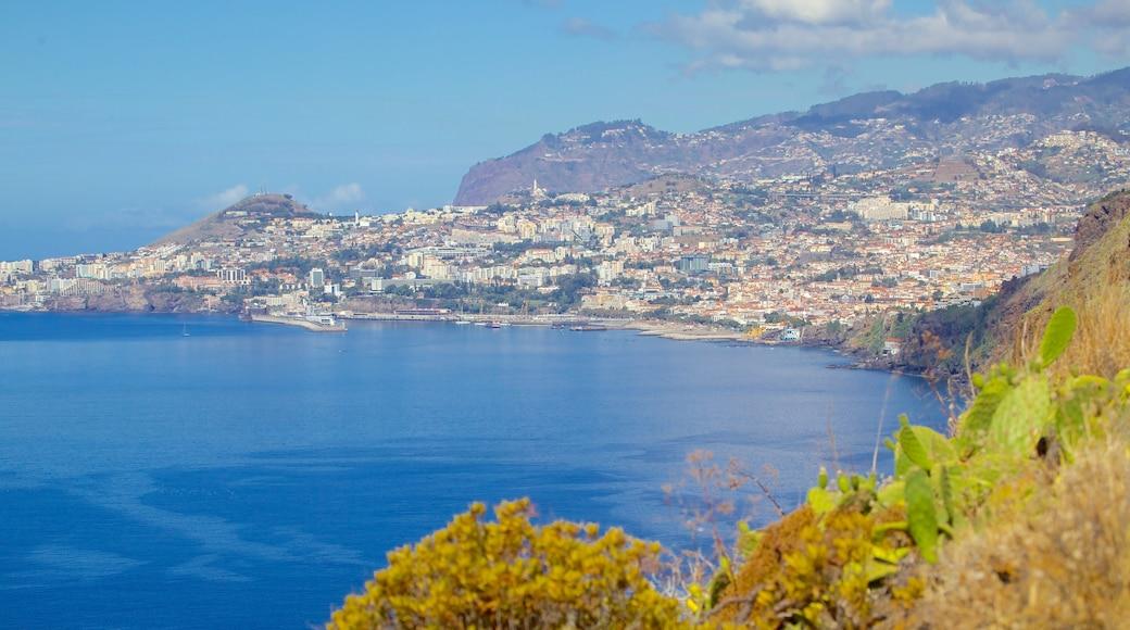 Ponta da Oliveira toont landschappen, algemene kustgezichten en een kuststadje