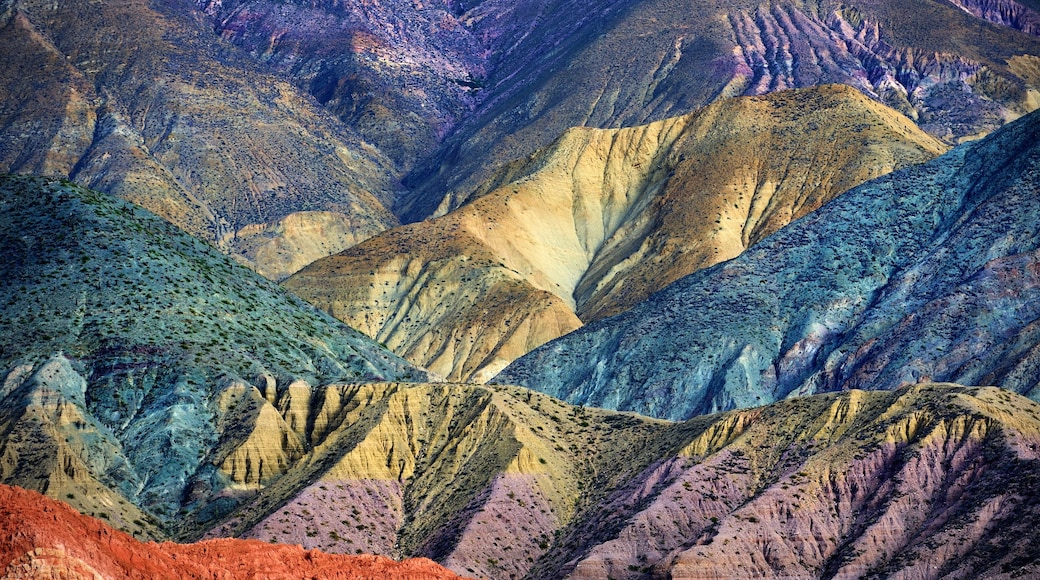Jujuy showing mountains and landscape views