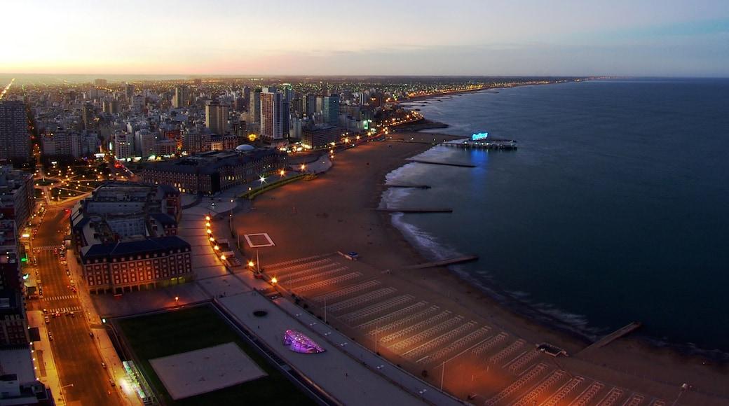 Mar del Plata caratteristiche di città, tramonto e vista della costa