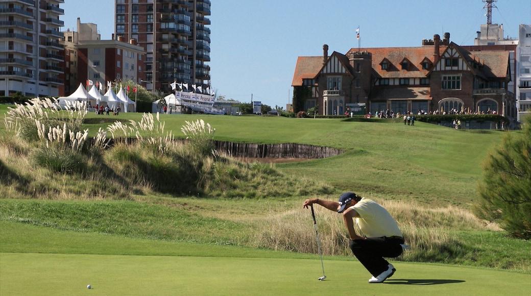 Mar del Plata che include golf e evento sportivo cosi come ragazzo