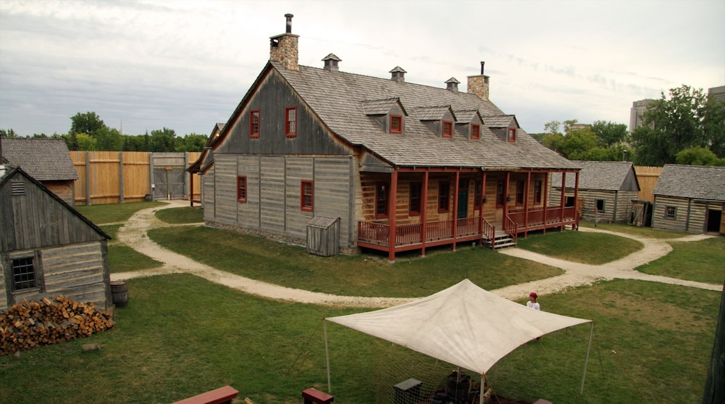 Manitoba which includes heritage architecture and a house