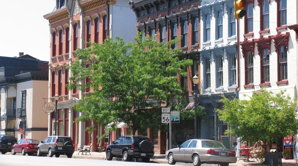 Madison featuring street scenes
