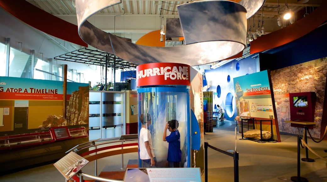 Connecticut Science Center which includes interior views as well as children