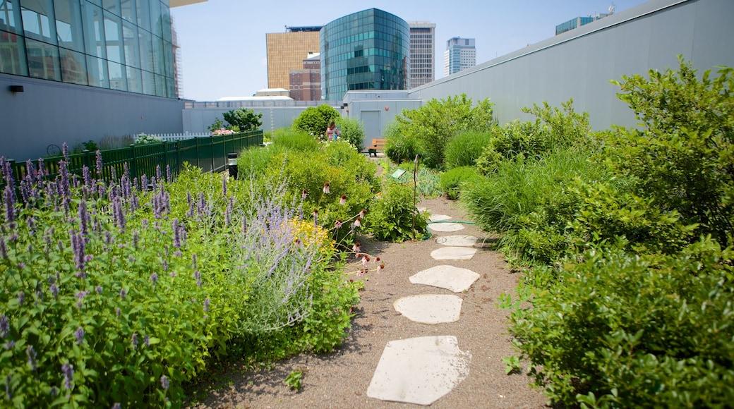 Connecticut Science Center featuring a garden