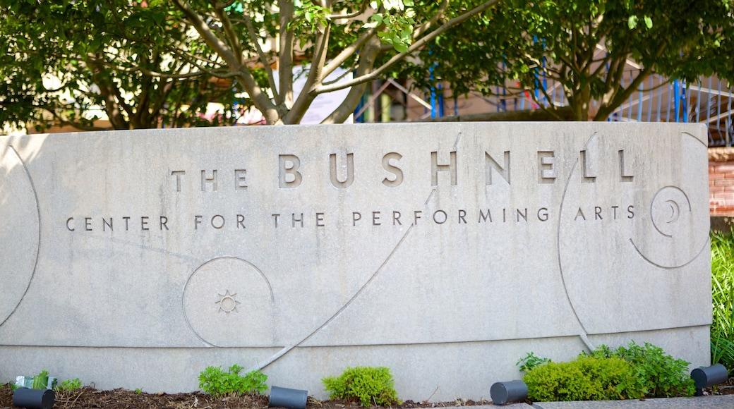 부시넬 공연예술센터 을 보여주는 신호