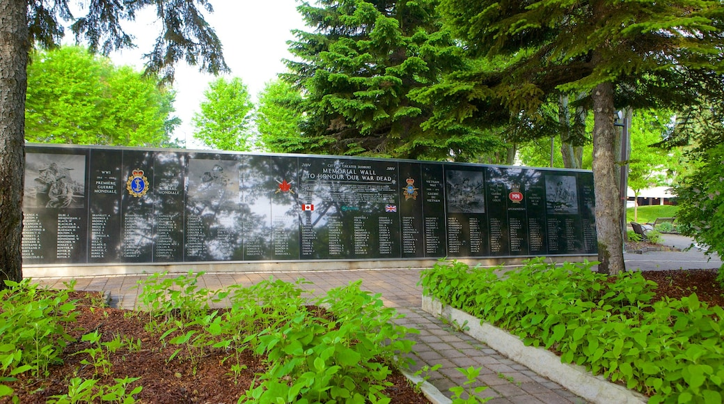 Sudbury featuring a park and a memorial