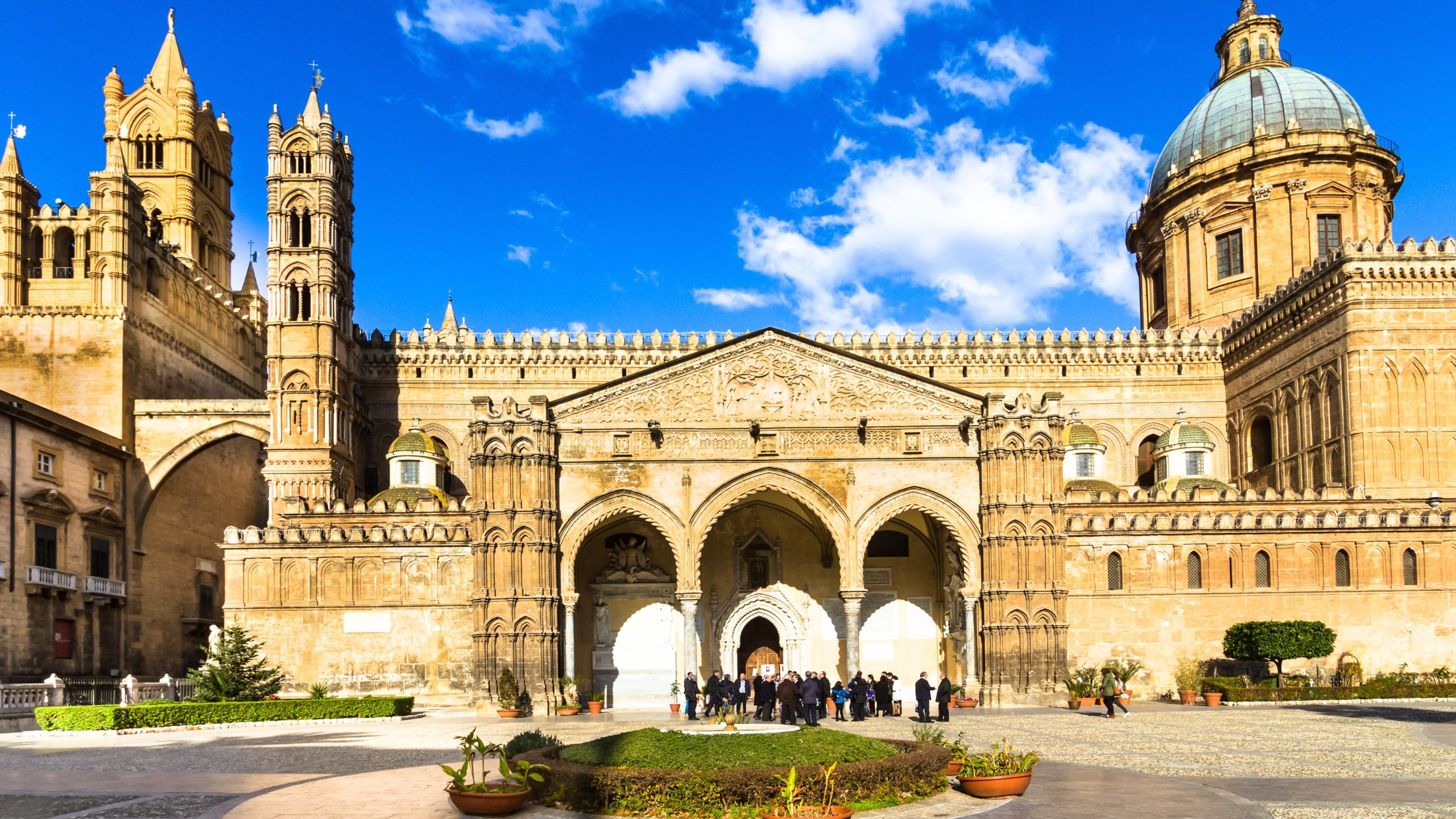 You can learn about the history of Palermo with a stop at Palermo Cathedral. While in this culturally rich area, find time to visit its shops.