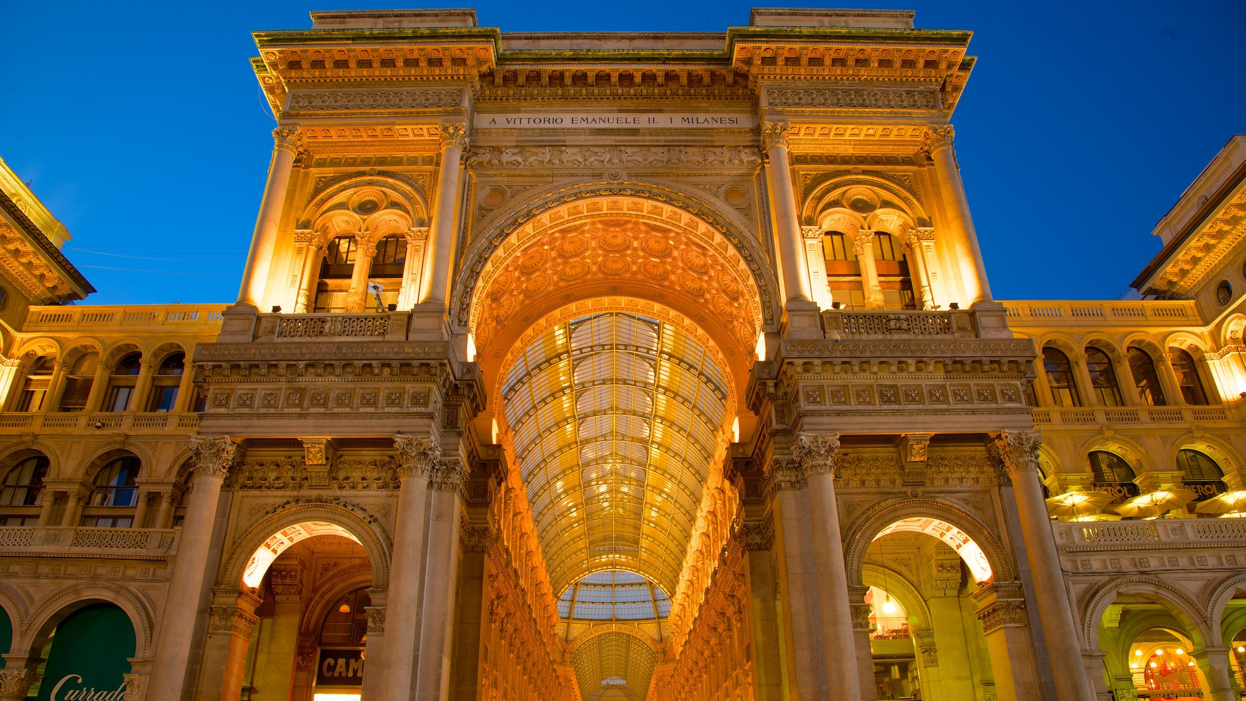 Galleria Vittorio Emanuele II, Mailand, Lombardei, Italien