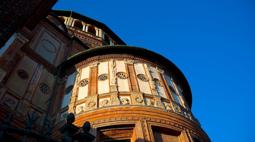 Santa Maria Delle Grazie que incluye arquitectura patrimonial