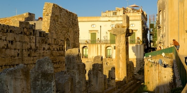 Temple of Apollo featuring a ruin and heritage elements
