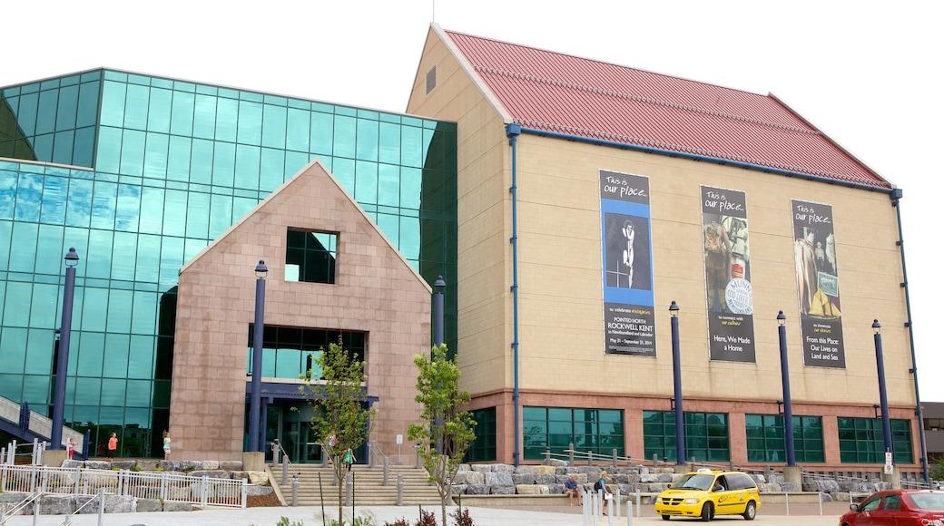 The Rooms featuring theatre scenes