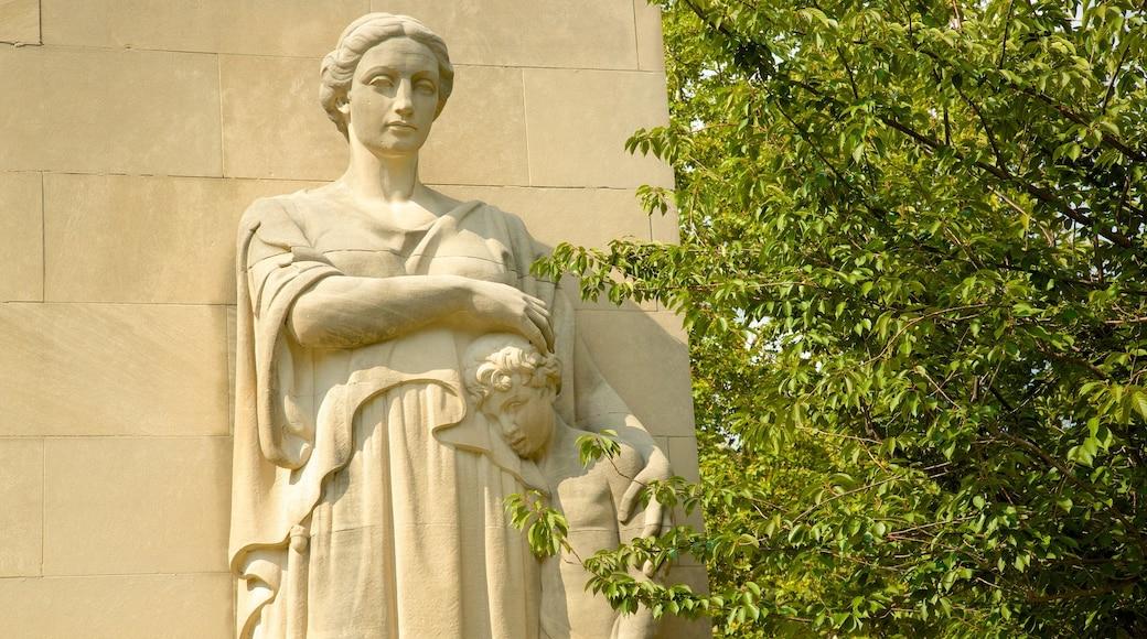 布魯克林 呈现出 紀念物 和 雕像或雕塑
