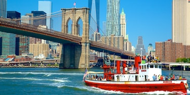 Brooklyn featuring cruising, a river or creek and heritage elements