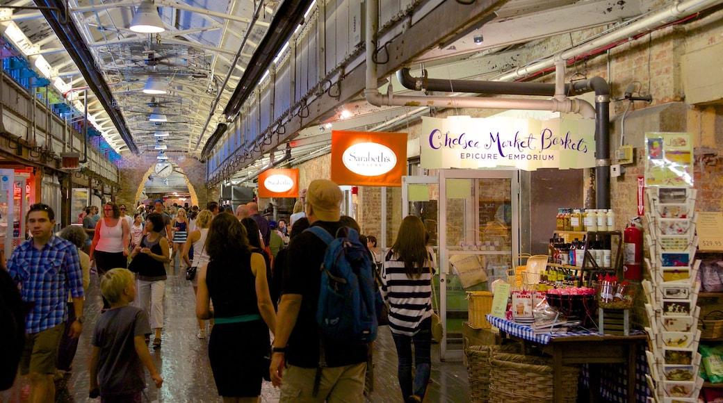 Chelsea marked som inkluderer marked, innendørs og shopping