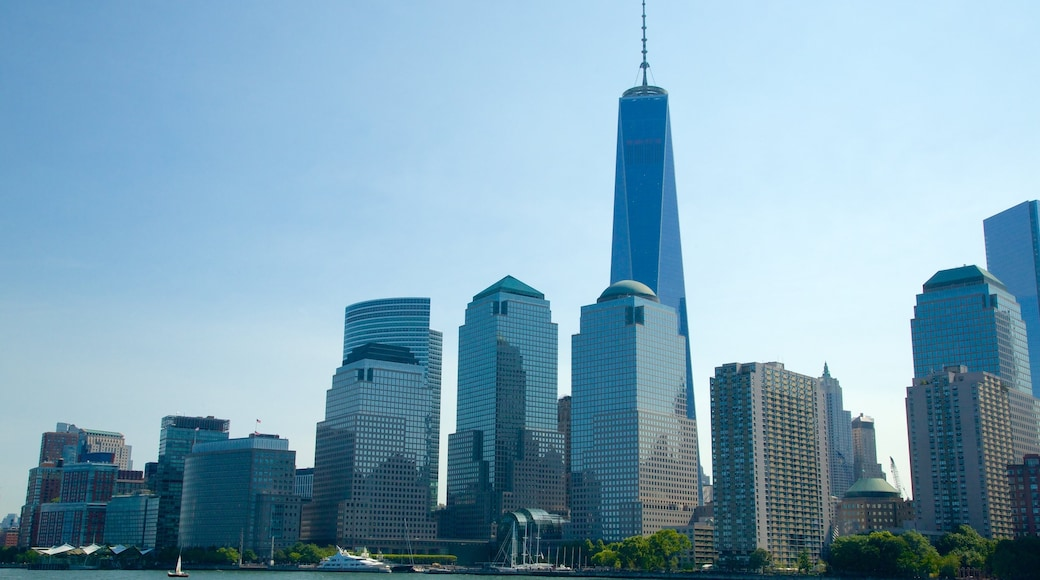 World Financial Center featuring modern architecture and a city