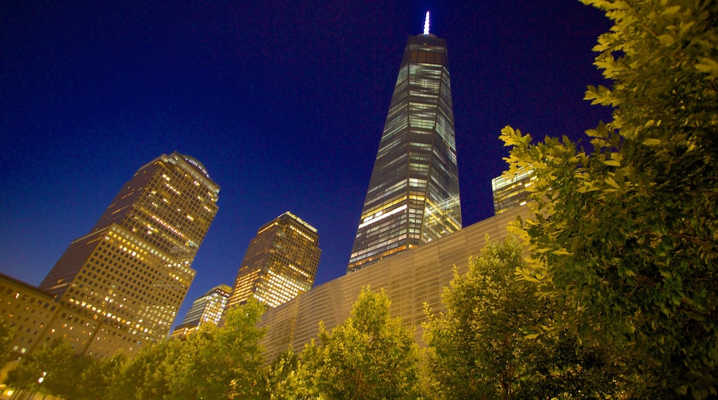 One World Trade Center som viser by